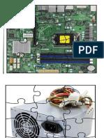 Puzzle Parts of Computer
