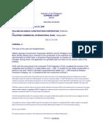 William Golangco Const. Corp. v. PCIB, 485 Scra 203