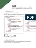 XML Bursting