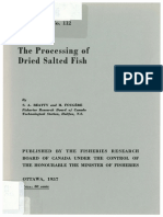 The Processing of Salted Dried Fish