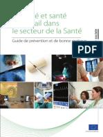 2011 Guide de Bonnes Pratiques SST Secteur de La Sante