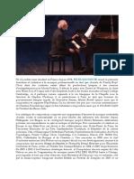Peter Bannister CV Français Juin 2018