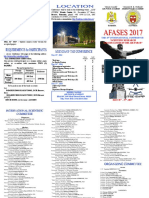 Second Call AFASES 2017