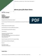 Analistas Programadores Java J2EE Base Datos - Oferta de Trabajo en Www.trabajando.cl