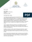 CM Margaret Chin Letter | 85 Bowery