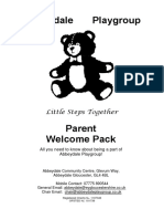 welcome pack 2018-2019