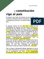 Noticia Constitución 1933