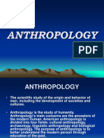 Anthropology Report