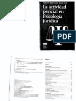 Actividad Pericial en Psicologia
