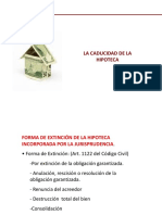 La Caducidad de La Hipoteca-Carlos Gomez