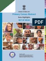Data Sheet Pca Districts Nct of Delhi