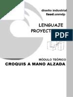 LP1 MÓDULO TEÓRICO Croquis a Mano Alzada