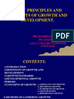 Basic Principle and Concept of Growth and Development