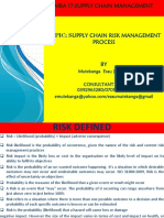 RISK mba 17