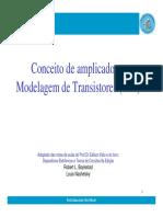 Cap 1-Conceito de Amplificador e Modelagem Do Transistor