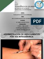 Adm. de Med. I.D Correcto