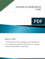 Technical Seminar UART