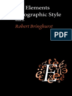 02 the Elements of Typographic Style