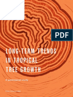 Long-term Trends in Tropical Tree Growth