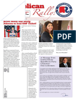 Republican Rally June 2018 Newsletter - Convention Edition