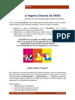 Booktuber Segarra Channel. Tarea 1