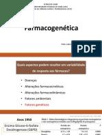Aula 31  Farmacogenetica