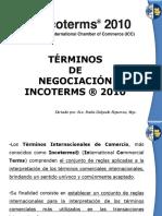 1 - Terminos de Negociacion Incoterms 2010