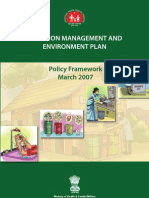 Infection Management and Environment Plan- Policy Framework