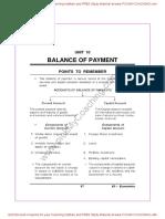 10 Balance of Payment