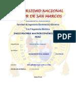 Macroeconomia en El Perú