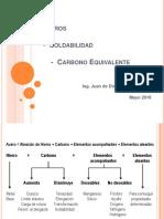 Aceros - Soldabilidad - Carbono Equival.