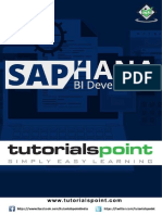 SAP HANA BI Development Tutorial