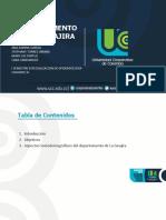 Departamento de La Guajira Sociodemografia