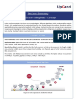 Lecture Notes - Introduction to Big Data
