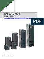 Siemens Micromaster 430 COM Pt 0805