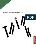 Guide d'utilisation du ThinkPad Yoga 370