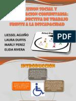 Inclusion Social y Participacion Comunitaria
