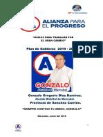 Plan de Gobierno Marcabal App 2019-2022 Actualizado