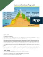 Las Ocho Regiones del Perú Según Pulgar Vidal.docx