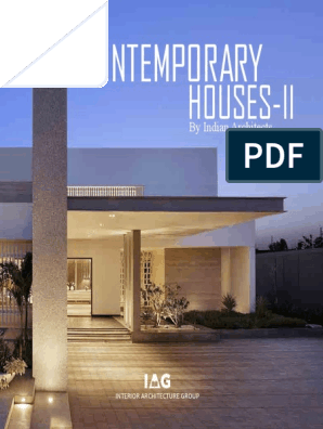 01 Iag Contemporary Houses Ii Interior Design Design