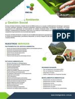 Medio Ambiente y Gestión Social 2018