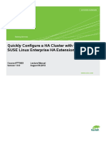 ATT1803-LECTURE MANUAL-Quickly Configure a HA Cluster With the SLE HA Extension 11-SP2