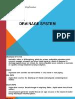 Drainage system