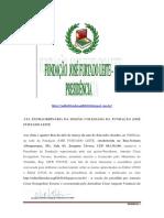 Prt 948556 Ata Extraordinária Da Fundação José Furtado Leite.