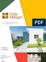Presentación Villa Milagro II Enero 2018
