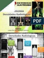 Densidades Radiológicas Patologías