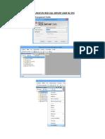 Configurar en Red SQL Server 2008 r2 Sp4