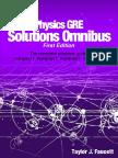 Physics GRE Solutions Omnibus