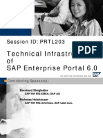 Technical Infrastructures of SAP Enterprise Portal 6.0