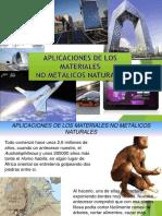 Tarea Nª 3 Aplicacion de Los Materiales No Metalicos Naturales